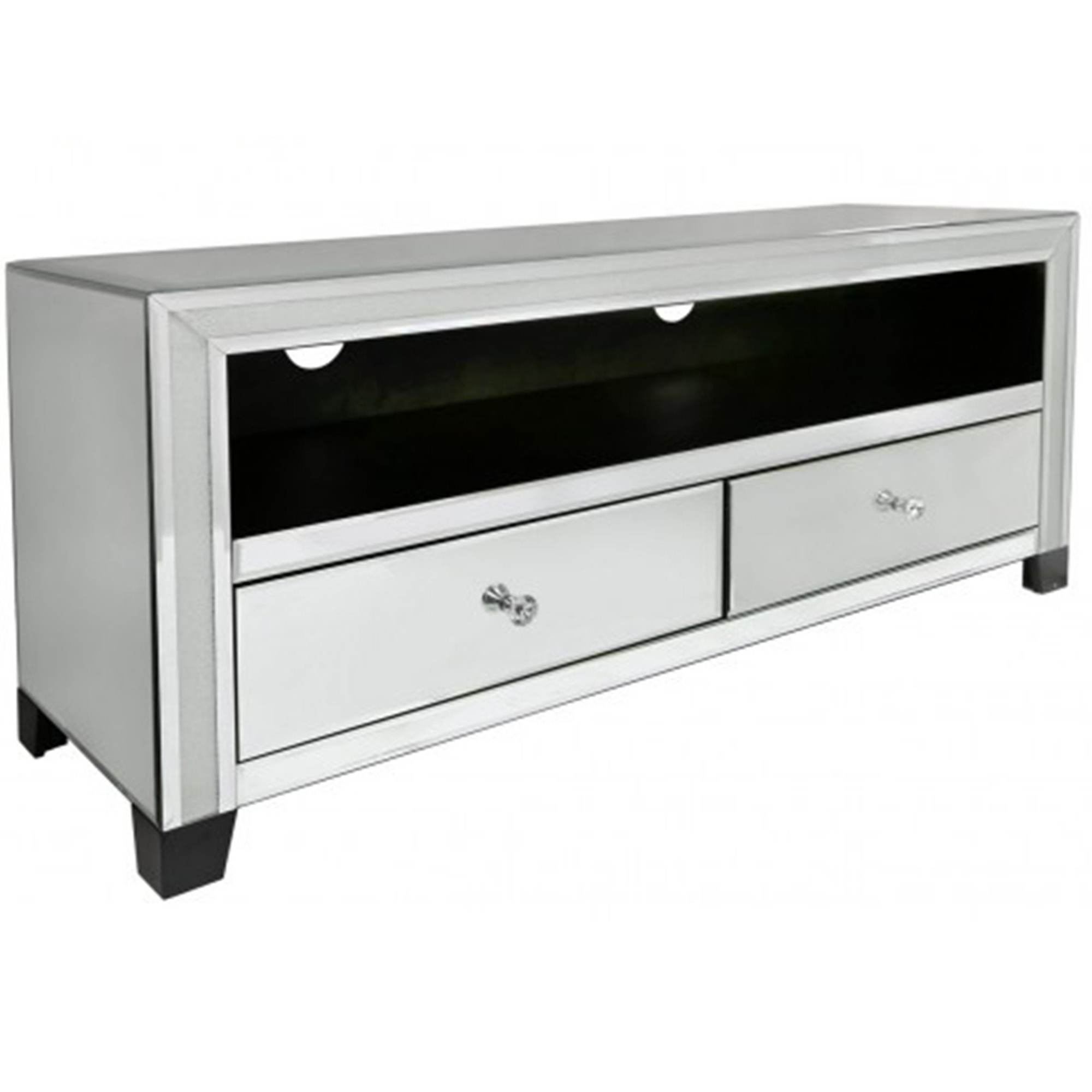Charmant Turin Mirrored TV Cabinet