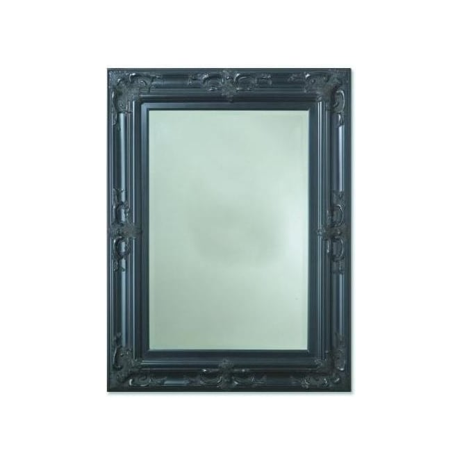 Tuscany Antique French Style Black Mirror
