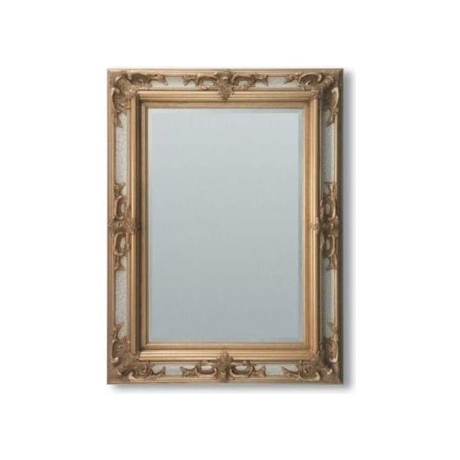 Tuscany Antique French Style Ivory Gold Mirror