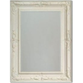 Tuscany Antique French Style White Wall Mirror