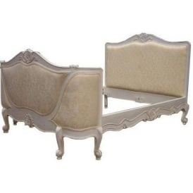 Upholstered Antique French Style Bed