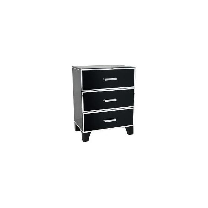 Urbaine 3 Drawer Side Table