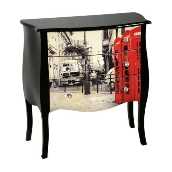 Urban Chic Antique French Style Bedside Cabinet