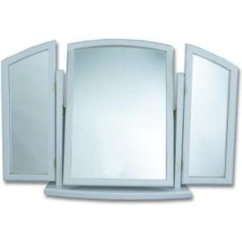 Vale Antique French Style Triple Mirror