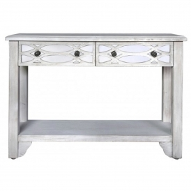 Valence Antique French Style Console Table