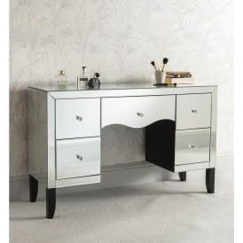 Valentina Mirrored Dressing Table