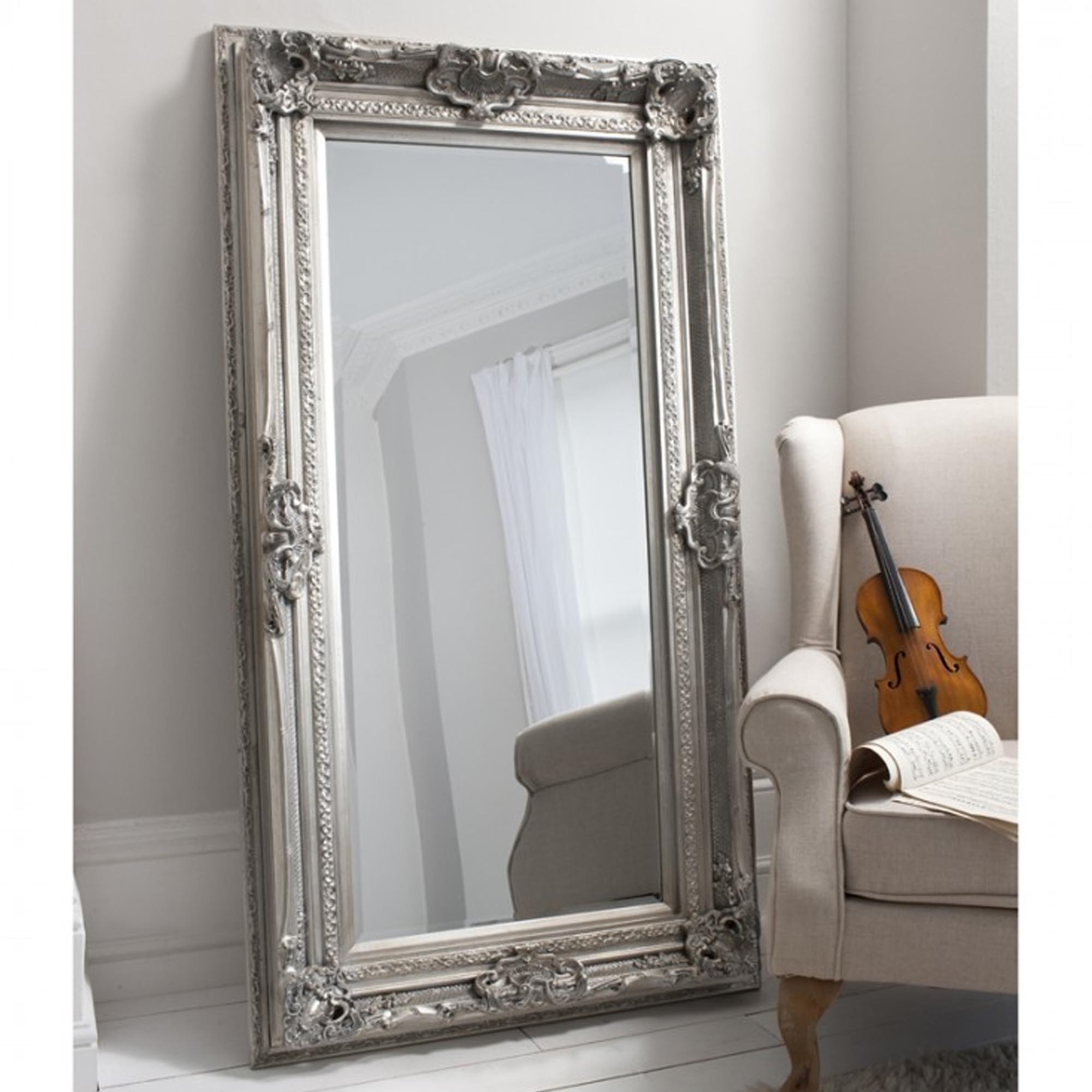 Abbey Rectangle Gold Mirror 110 x 79 cm | Exclusive Mirrors