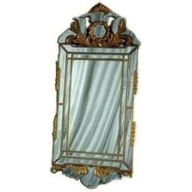 Venetian Gold Frame Rectangular Mirror