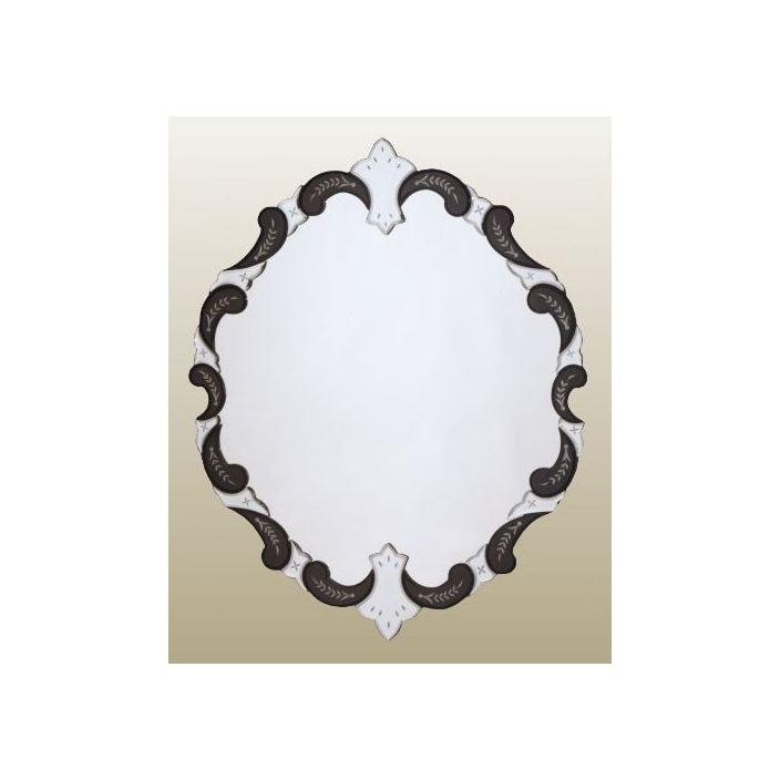 Venetian mirror with black edge for Black venetian mirror