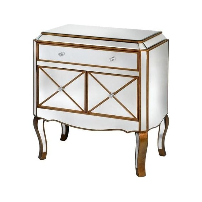 Venetian Mirrored Chest