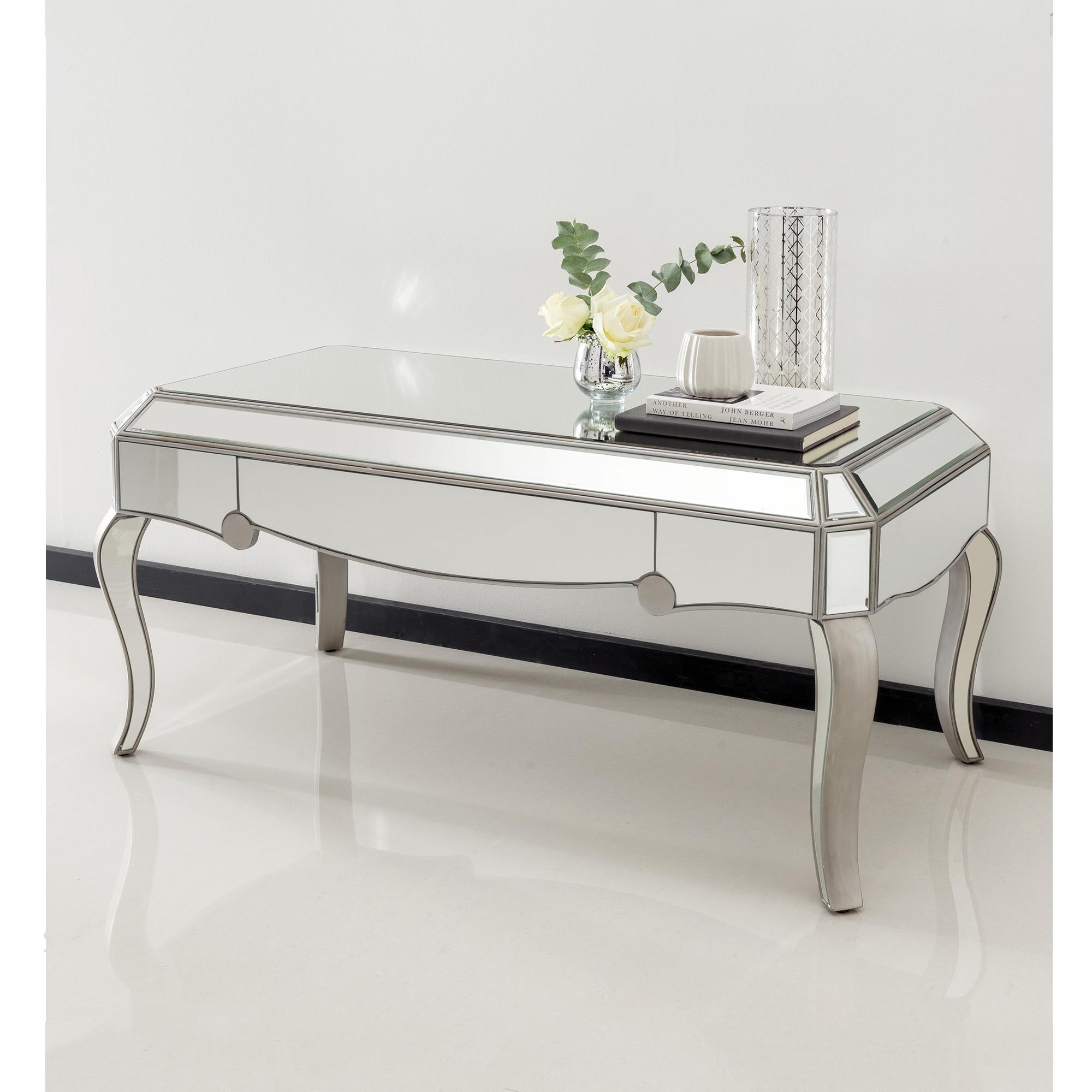 Fantastic Venetian Mirrored Coffee Table Dailytribune Chair Design For Home Dailytribuneorg