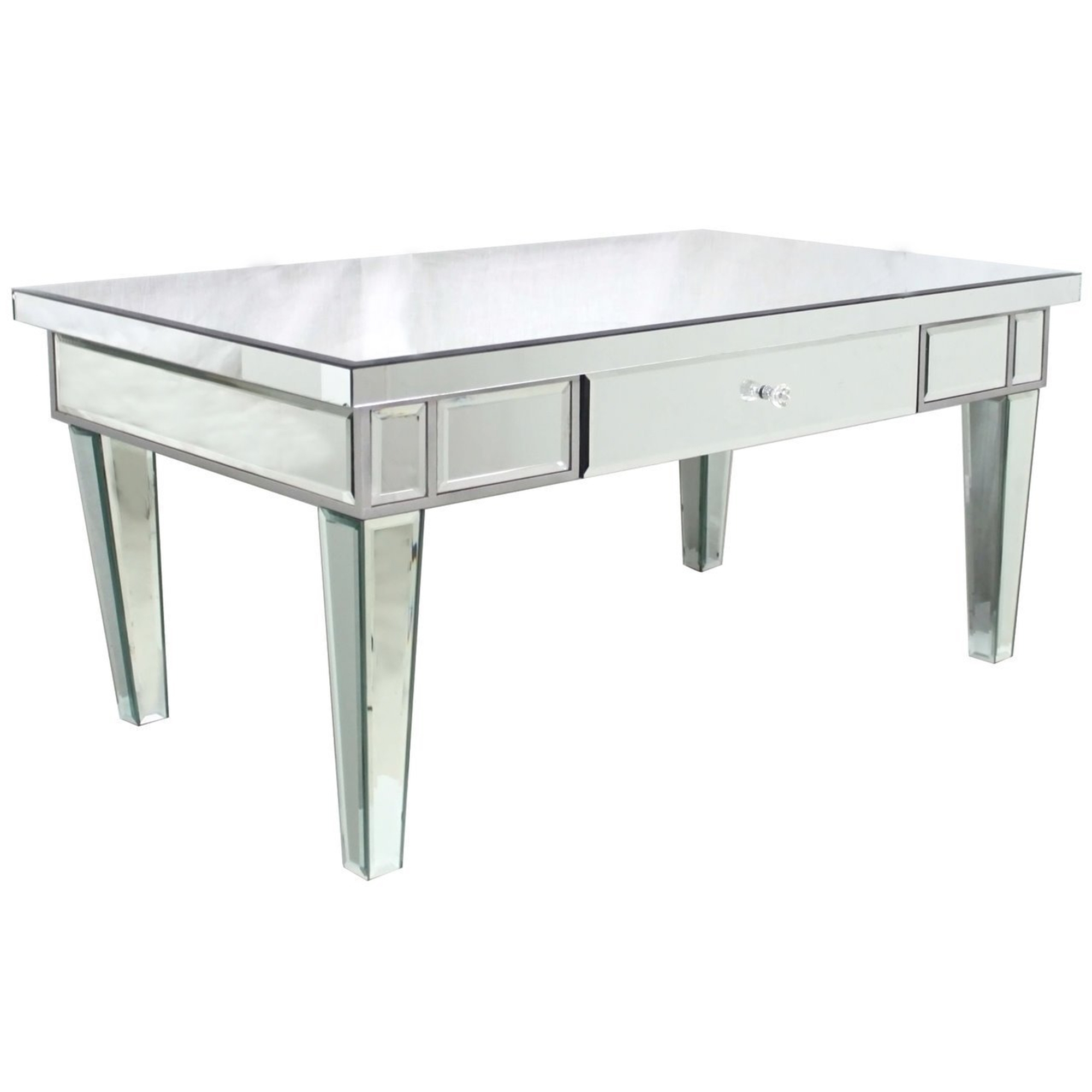 mirrored coffee table. Venetian Mirrored Coffee Table