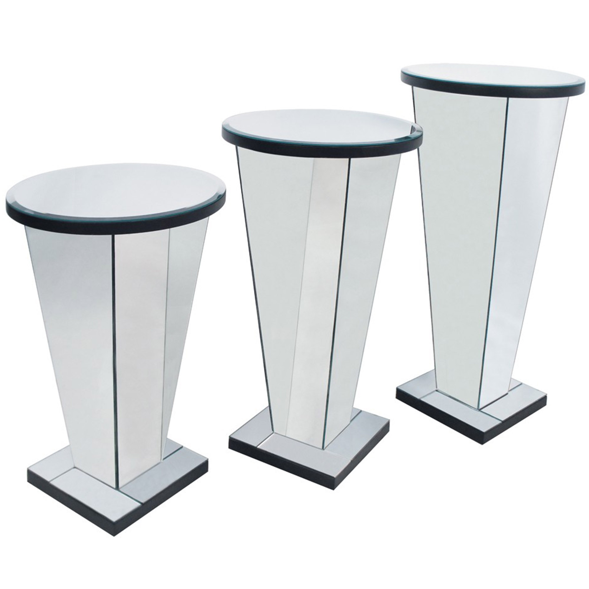 home stands raw kathy steel detail inch pedestal loft product kuo industrial hollow display