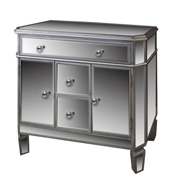 Venetian Mirrored Sideboard Homesdirect365 Glass Furniture