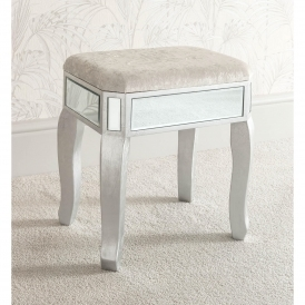 Venetian Mirrored Stool