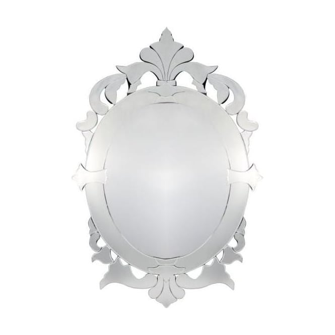 Venetian Oval Extra Large Mirror