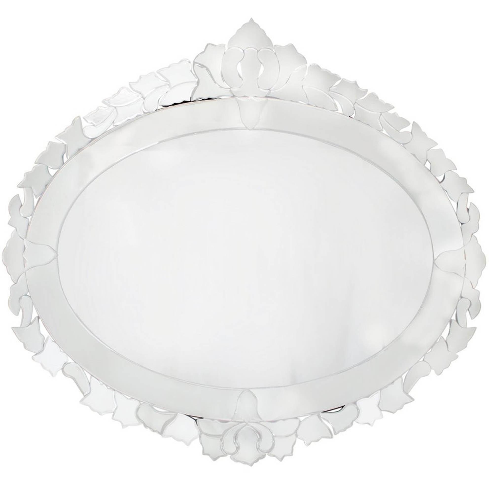Venetian Oval Wall Mirror Decor Homesdirect365