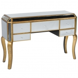 Venezia Mirrored Dressing Table