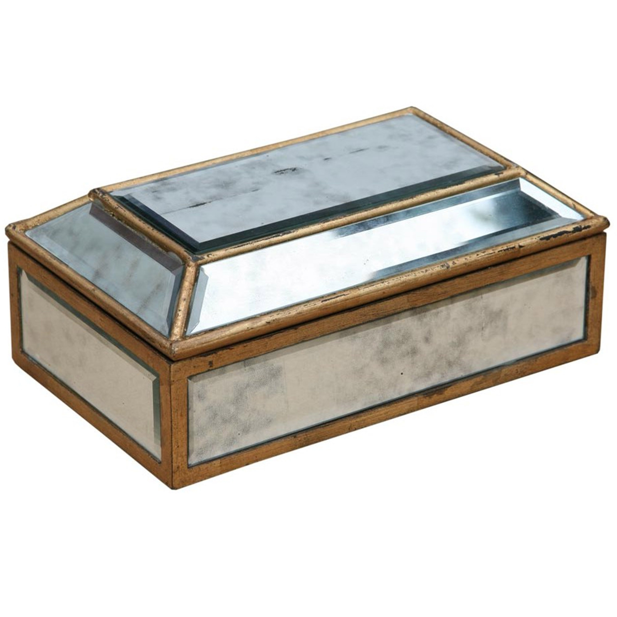 Venezia mirrored jewellery box french furniture from for Mirror jewellery box