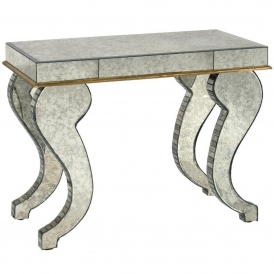 Venezia Mirrored Side Table