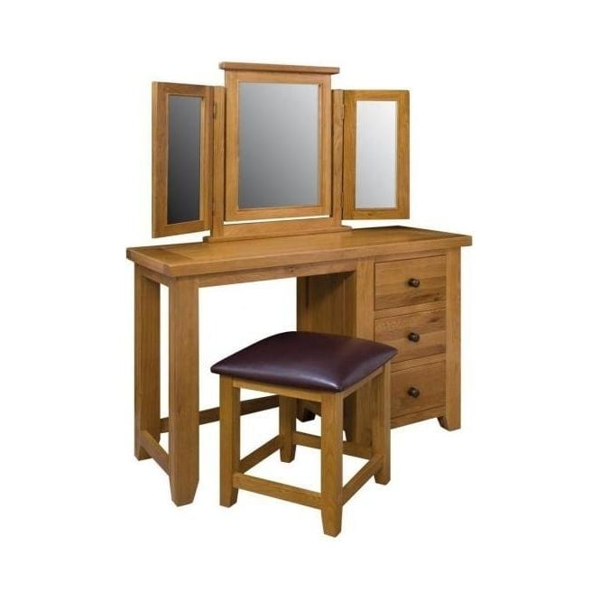 Vermont Dressing Table and Stool Set