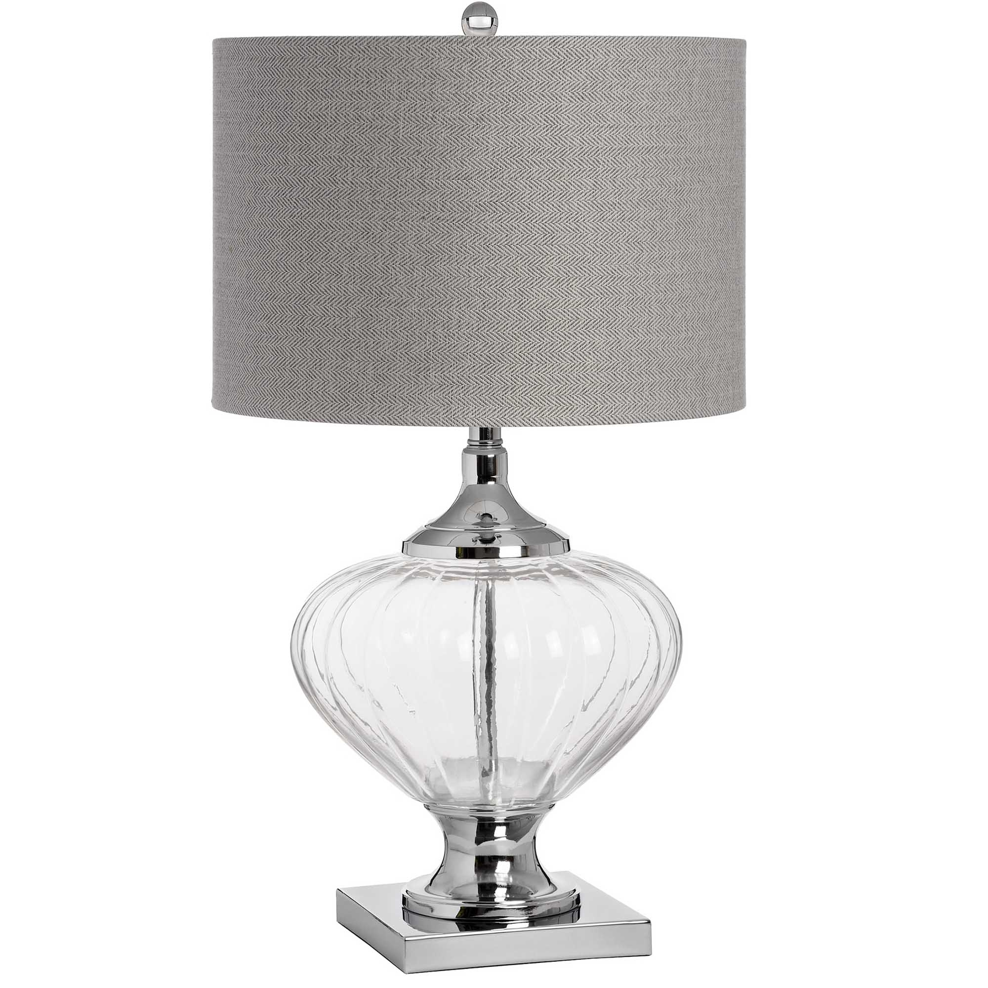 Verona Glass Table Lamp Table Lamp Homesdirect365