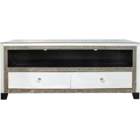 Verona Mirrored TV Cabinet