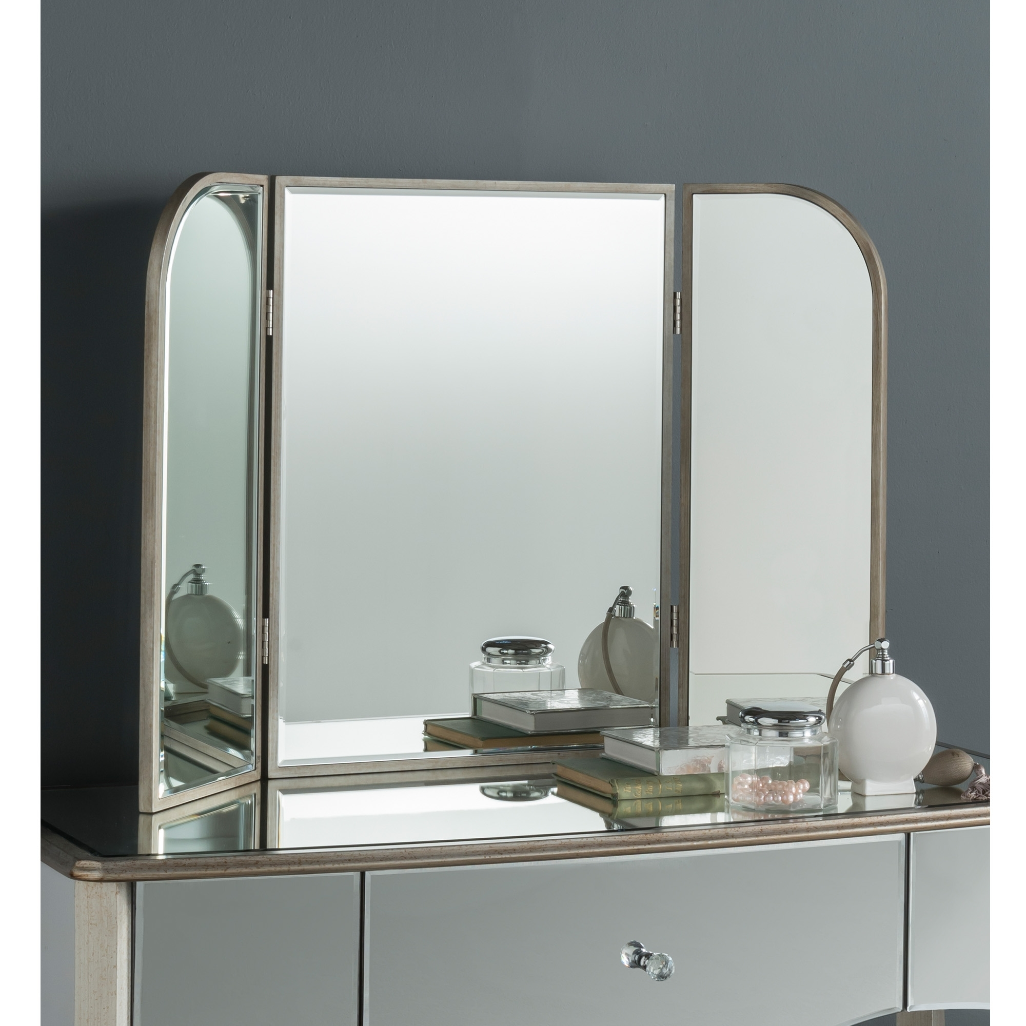 Versailes Dressing Table Mirror Venetian Mirrored Furniture