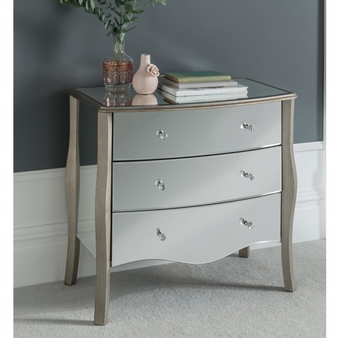 Versailles Mirrored Chest of Drawers