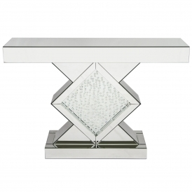 Vicenza Mirrored Console Table