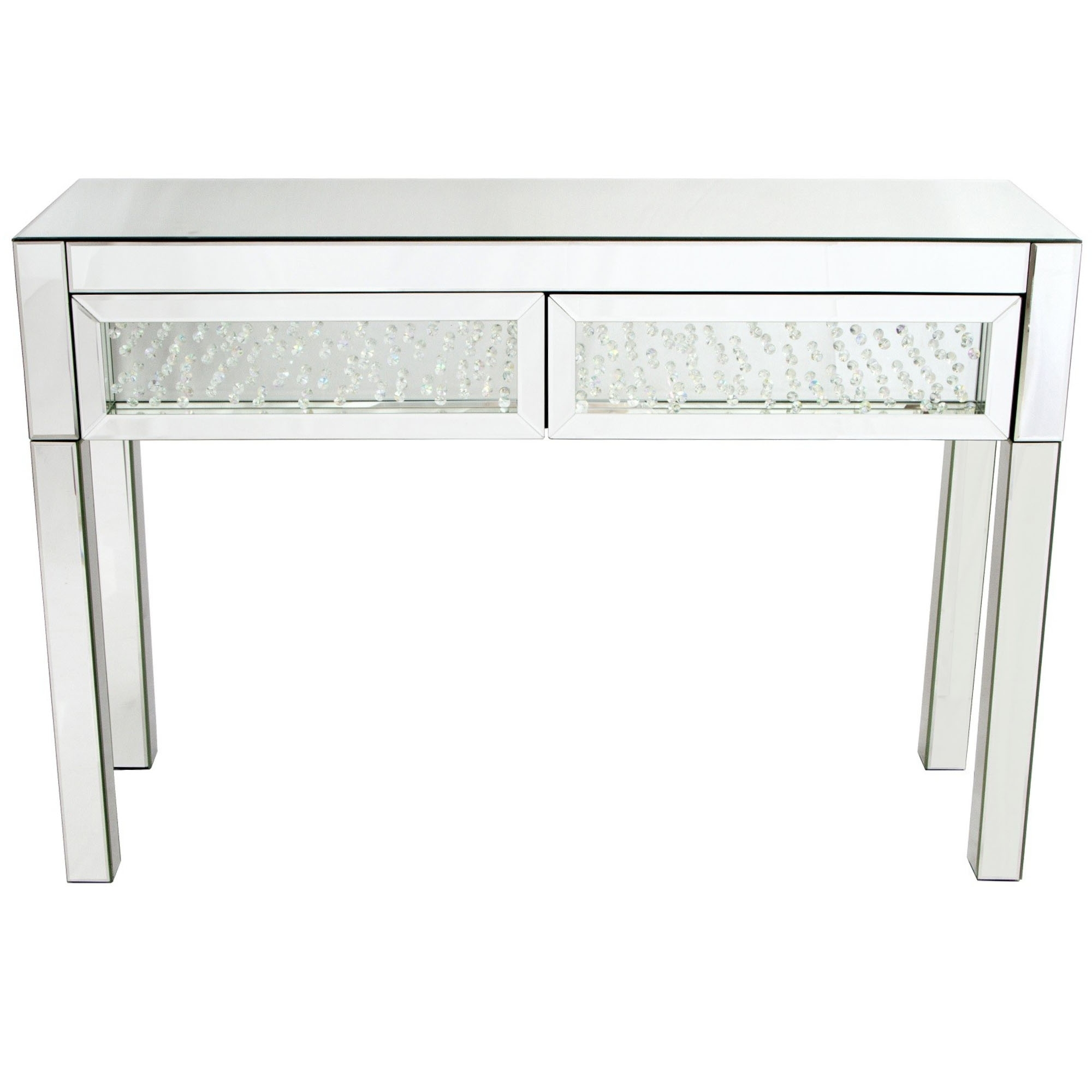 mirror console table. Vicenza Mirrored Console Table Mirror