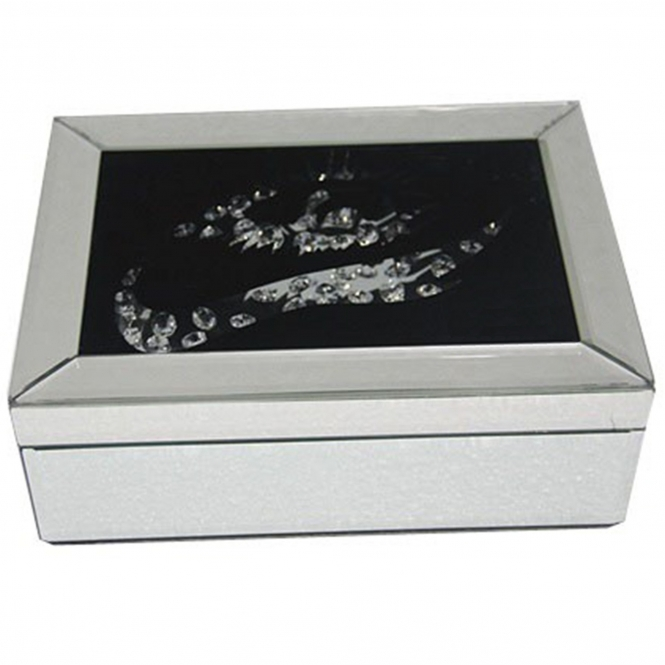 Vicenza Mirrored Jewellery Box