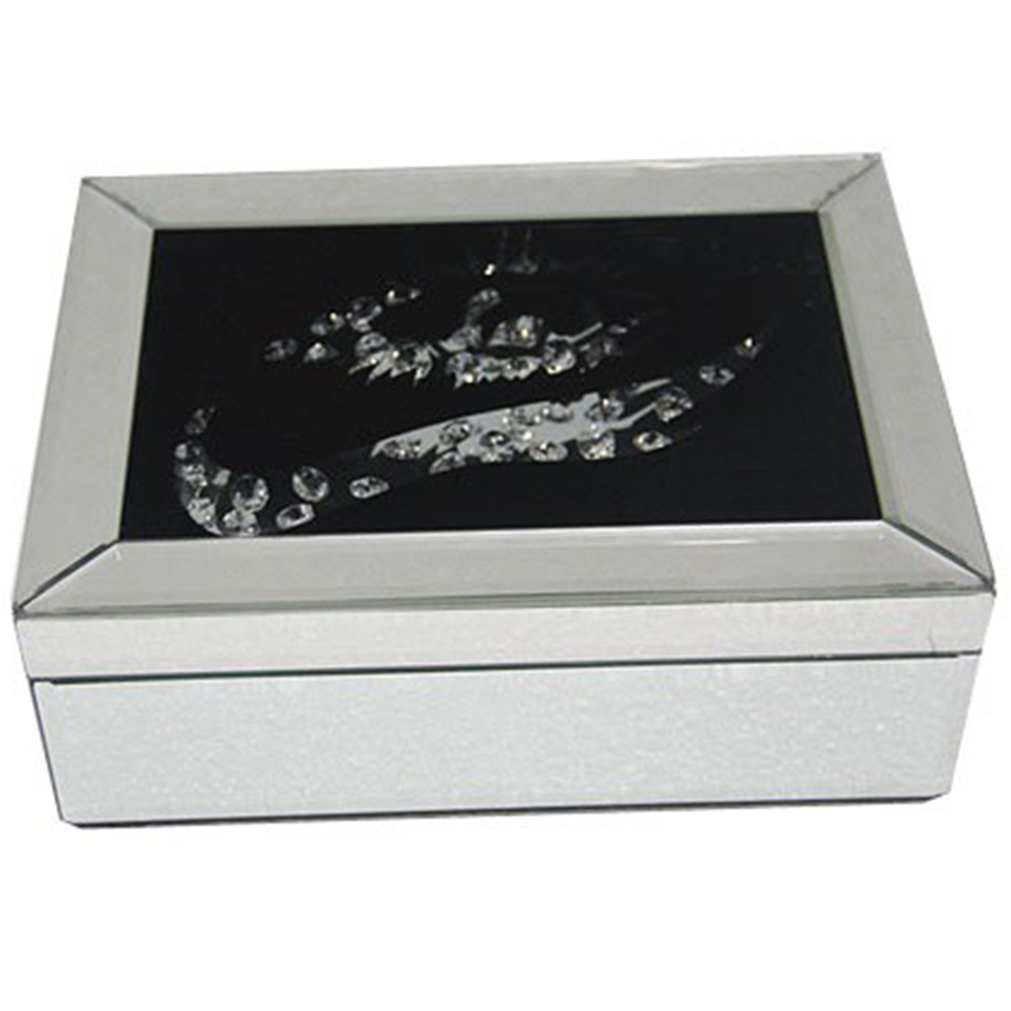 Vicenza mirrored jewellery box french furniture from for Mirror jewellery box