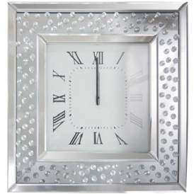 Vicenza Mirrored Wall Clock
