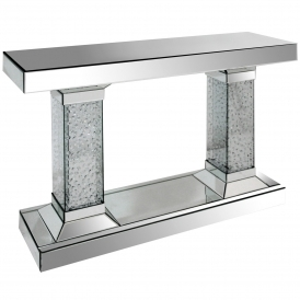 Vicenza Mirrorred Console Table
