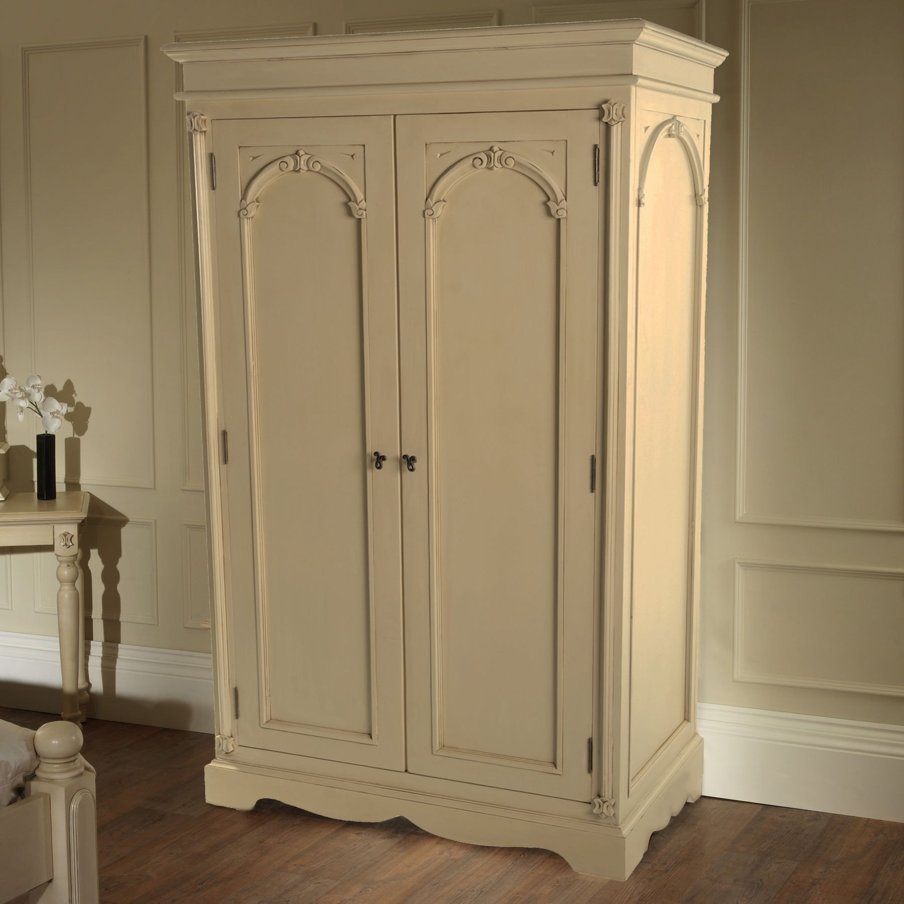 victorian antique french wardrobe working well alongside. Black Bedroom Furniture Sets. Home Design Ideas