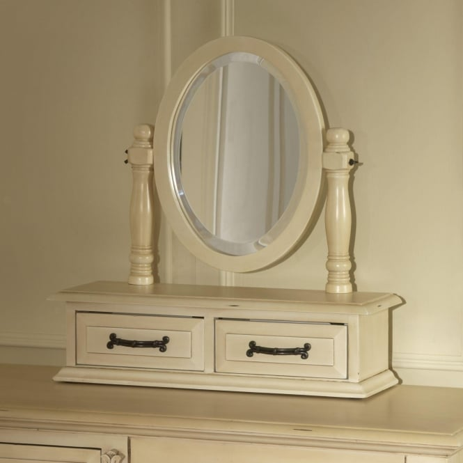 Victorian Antique Trinket Mirror