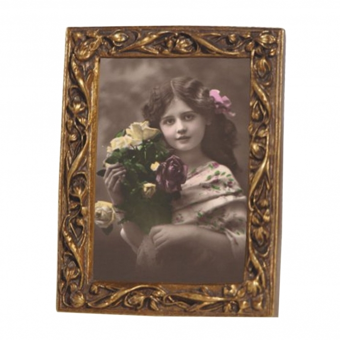 Vintage Gold Antique French Style Photo Frame