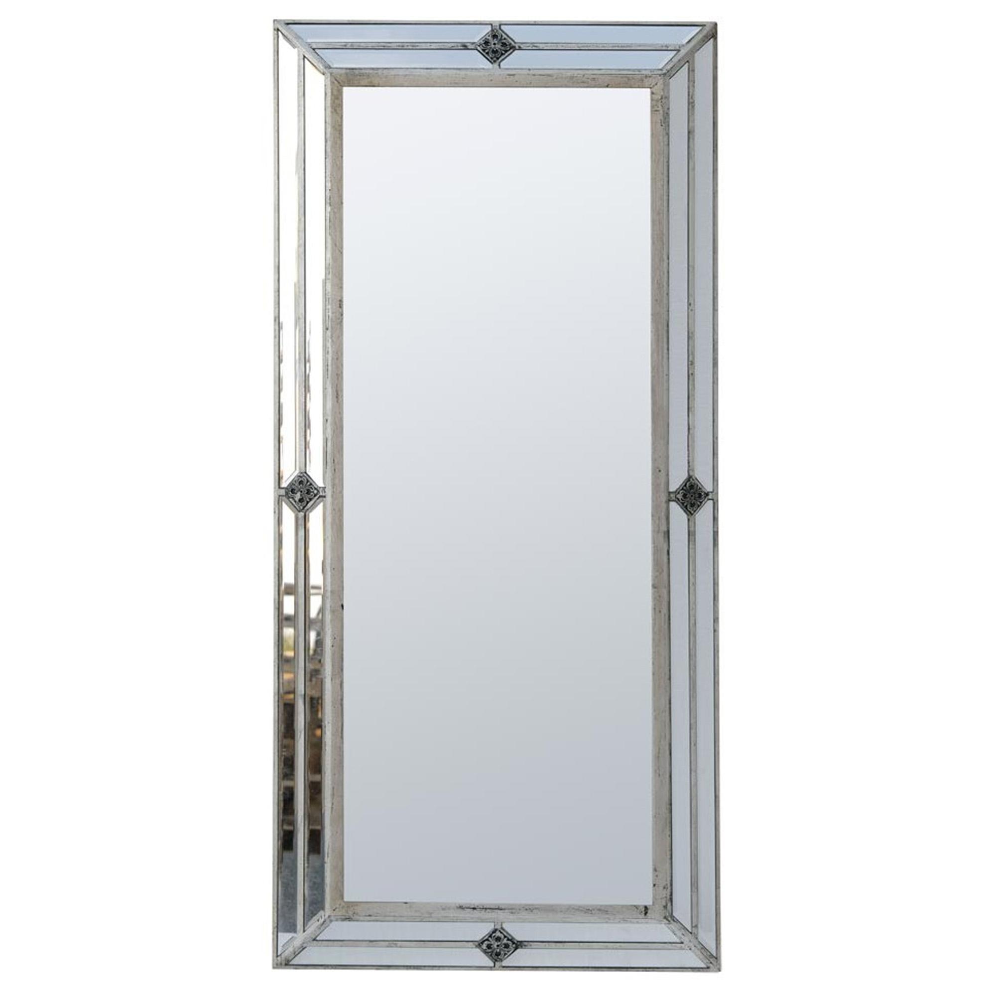 venetian floor standing mirror french mirrors