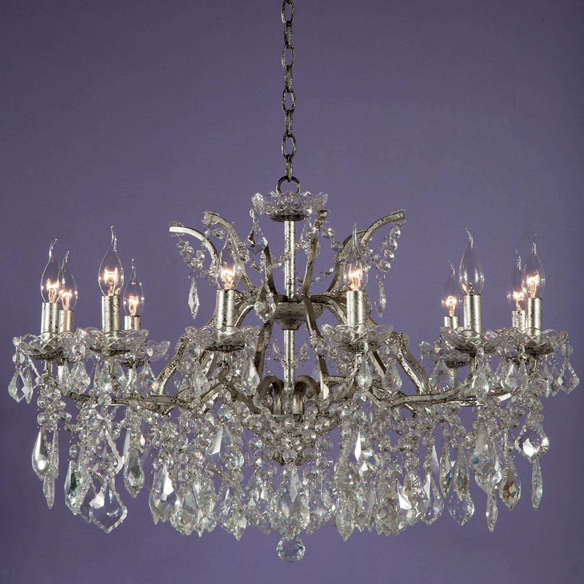 Vivianne silver antique french style chandelier chandeliers vivianne silver antique french style chandelier aloadofball Choice Image