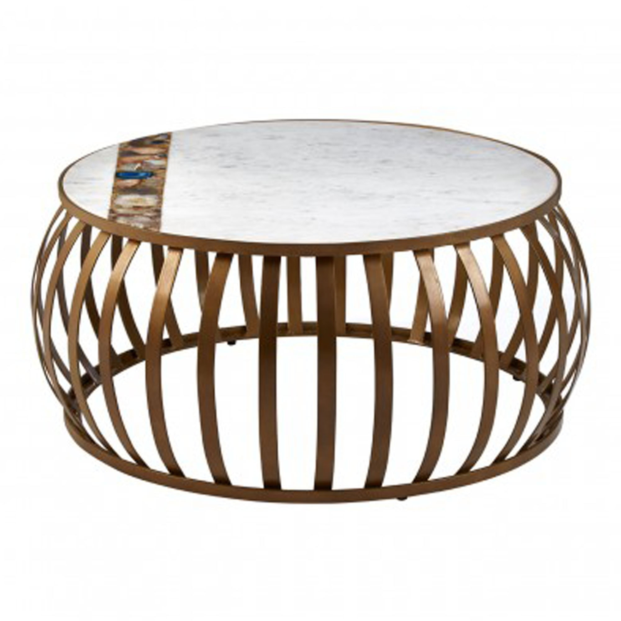 Vizzini Round Coffee Table Modern Furniture Dining Coffee Tables