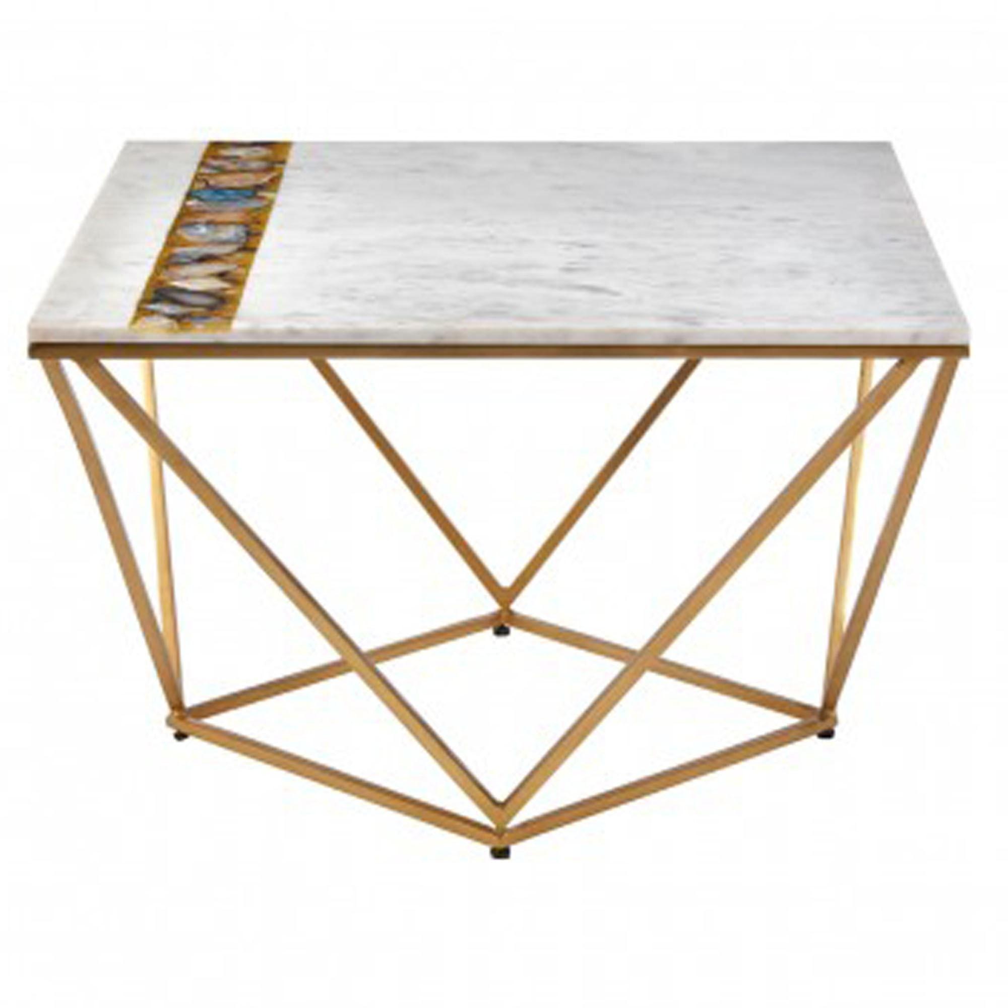 Vizzini Square Coffee Table Modern Furniture Coffee Tables