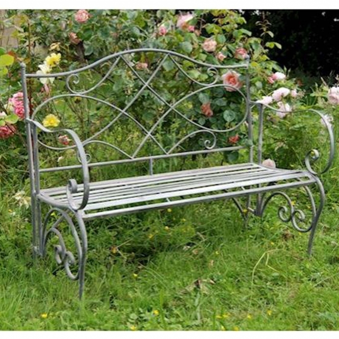 Westminster Antique French Style Outdoor Bench