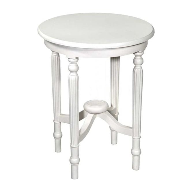 White Antique French Style Table