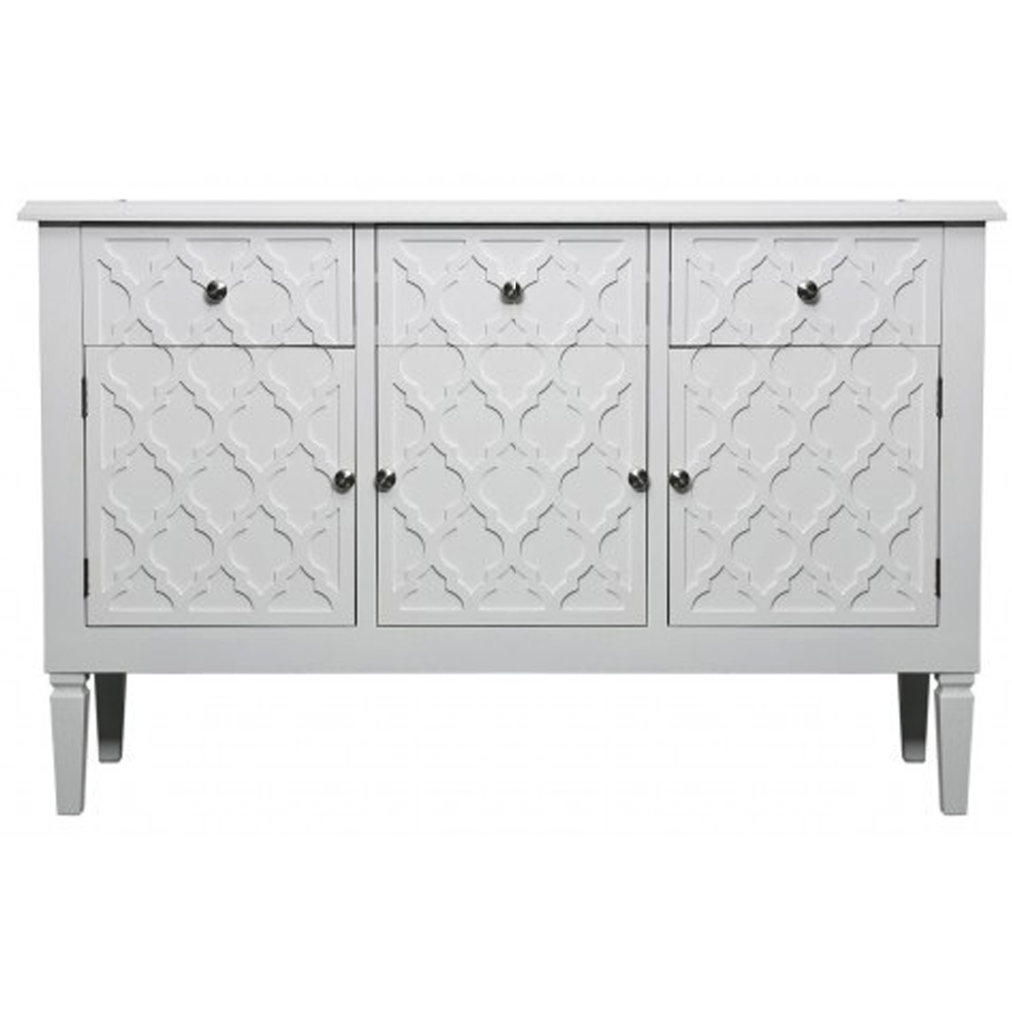 Picture of: White Benton Wooden Sideboard Sideboards Benton Collection