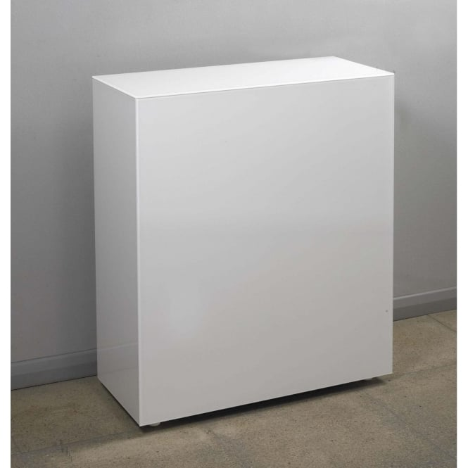 White Glass Cube