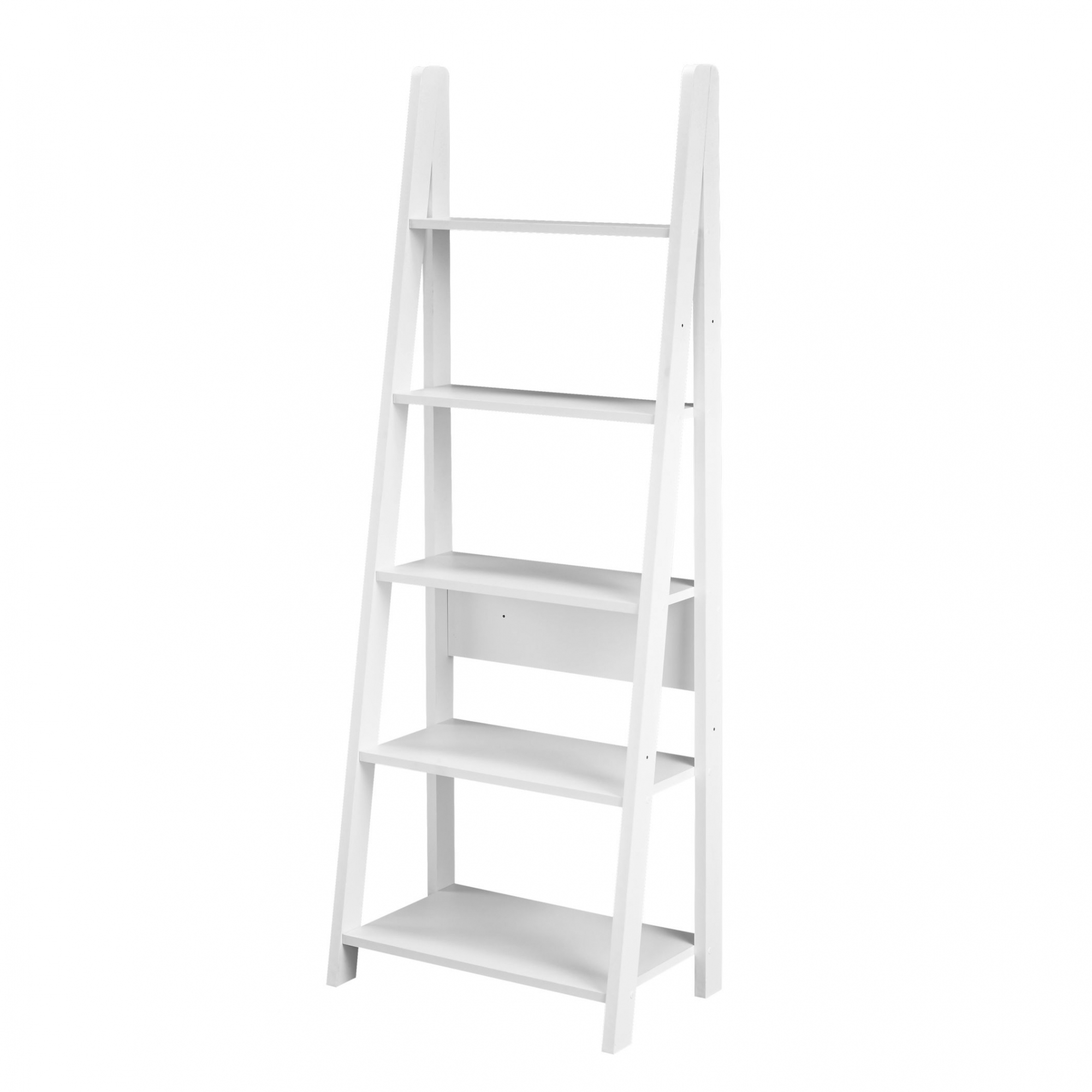 White Tiva Ladder Display Unit