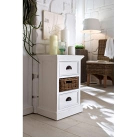 Whitehaven Shabby Chic Bedside Cabinet