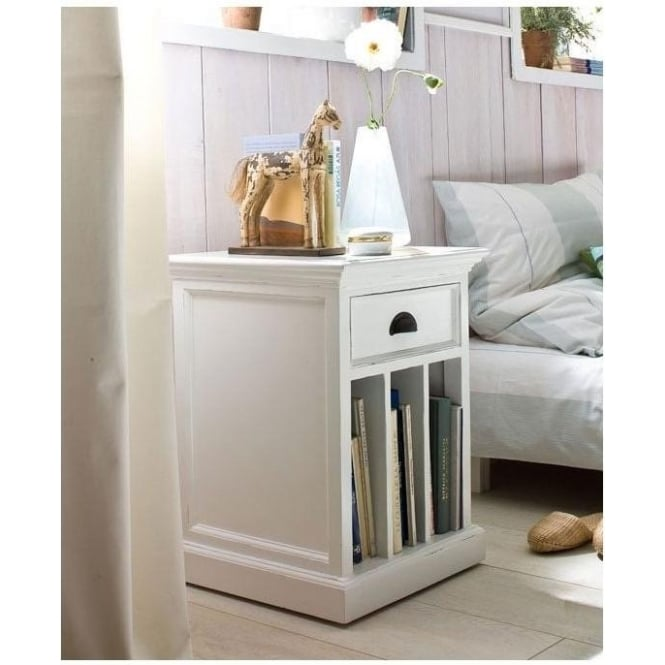 Whitehaven Shabby Chic Bedside Table