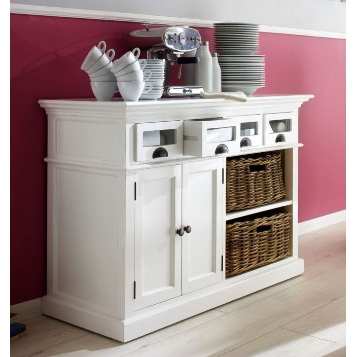 whitehaven shabby chic sideboard buffet homesdirect365. Black Bedroom Furniture Sets. Home Design Ideas